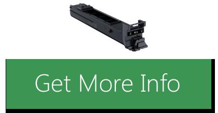 Clarified Konica Minolta magicolor 4650, 4690MF, 4695MF Black High Capacity Toner Cartridge 8,000 Yield, Part Number A0DK132